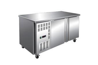Stainless Steel Double Door Workbench Freezer - TS1800BT  Thermaster