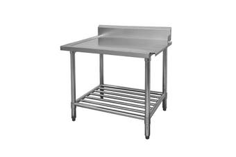 WBBD7-0600R/A  All Stainless Steel Dishwasher Bench Right Outlet  Modular Systems