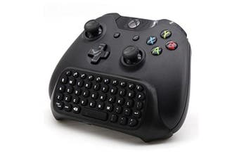 REYTID Wireless Mini Bluetooth Keyboard ChatPad Compatible with Xbox One with 3.5mm Jack - Controller Gaming Message USB Game Keypad GamePad