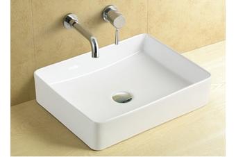 Arrow-S rectangular above counter top basin