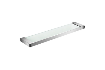 ASTRA glass shower shelf Chrome