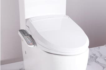 Smart electric toilet bidet seat only