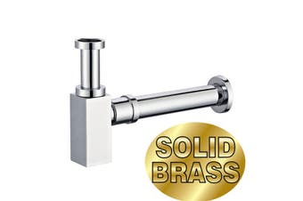 32mm p-trap vanity basin sink Square Bottle Trap waste pipe drain