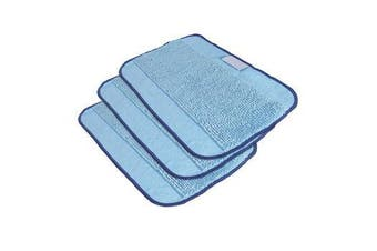 iRobot Braava 380t 3 Pack Microfiber Cleaning Cloths - Blue