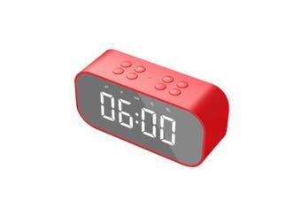 Portable Speaker BT5.0 Subwoofer Handsfree Soundbox Hands-free Call Audio Player Music Amplifier Red
