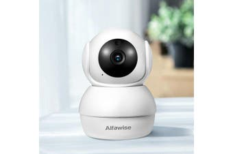 Alfawise N816 Smart Home Security 1080P WiFi Wireless Mini IP Camera- White