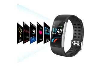 Alfawise I7E ECG Monitor AI Intelligent Analysis Smart Bracelet- Black