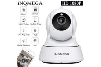 INQMEGA Cloud 1080P IP Camera Wireless Auto Tracking Home Security Camera Surveillance Camera- 720P White EU Plug 3.6mm China