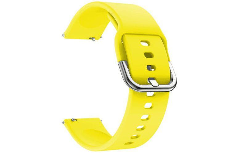 TAMISTER Monochrome Vitality Replacement Strap for Amazfit GTS- Yellow