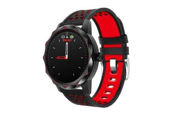 COLMI SKY 1 Pro Smart Watch Heart rate tracker with Fitness tracker for iphone Xiaomi Andriod phone- Red