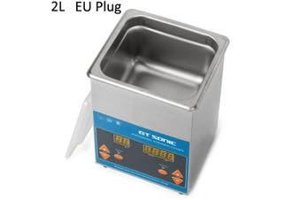 GT Sonic VGT-1620QTD Professional Ultrasonic Cleaner Washing Equipment- Silver EU Plug