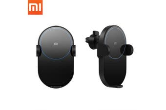 Xiaomi Wireless Car Charger 20W Max Electric Auto Pinch Qi Quick Charging Mi Wireless Car Charger- Black