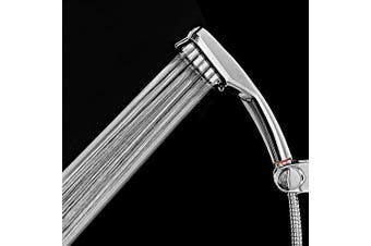 gocomma 300 Holes High-pressure Boost Shower Head- Silver
