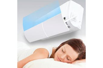 Multifunctional Telescopic Air Conditioning Baffle Hood- White