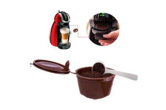 Refillable Dolce Gusto Coffee Capsule 2PCS- Brown Pack of 2