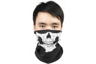 Creative Multifunctional Cycling Seamless Magic Scarf for Outdoor Sports- White