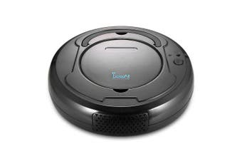 One-click Cleaning Durable Smart Vacuum Cleaner Automatic Sweeping Robot- Black