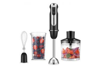 4 in 1Electric Hand Held Blender Immersion Stick Electric ChopperWith Emulsion Mixer- France
