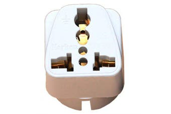 Travel Adapter Plug European Regulations Pure Copper German Standard Conversion- White