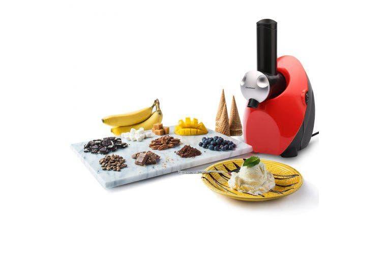 Electric Fruit Ice Cream Maker Freezer Home Made Fro zen Yogurt Smoothie Machine- Green