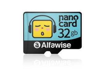 Alfawise Cartoon Face High Speed 32GB Memory Micro SD TF Card- Multi 32G