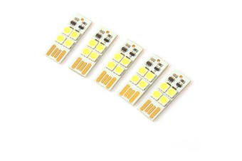 5PCS Mini 5V USB Lamp Light Module with Touch Switch- White