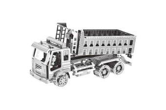 3D Metal Truck Model Fit for Children- Silver