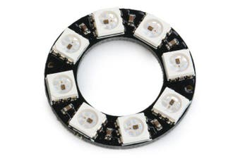 WS2812 5050 8Bit Full-Color Board- Black