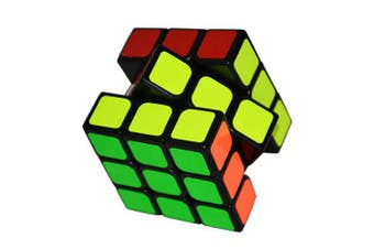 MO FANG GE Smooth Speed Magic Cube Puzzle Toy- Black