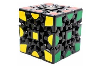 Elstey Magic Combination 3D Gear Cube Generation Black Painted Stickerless- Black