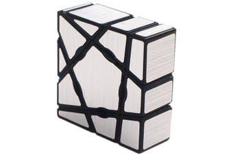 Mirror Ghost Magic Cube Puzzle Toy- Platinum