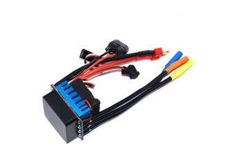 ZD Racing 45A 2 - 3S Waterproof Brushless ESC for 1:10 RC Car- Black and Blue