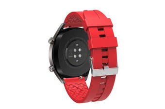 Silicone Wristband Watch Band Wrist Strap for Xiaomi Huami Amazfit GTR 47MM- Red