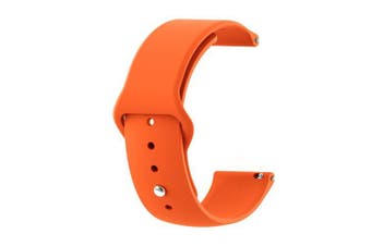 22MM Silicone Watchband Strap for AMAZFIT Pace Stratos 2 / 2S- Orange