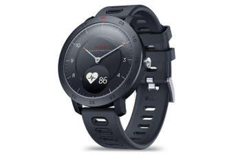 Zeblaze HYBRID Dual Modes Mechanical Smart Watch- Black
