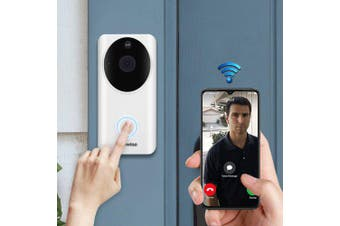 Alfawise L9 Plus Smart Home Security 1080P WiFi Video Doorbell- White