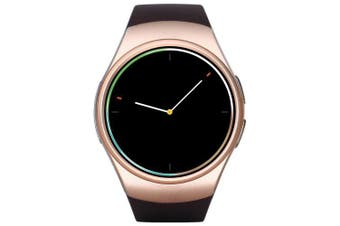 KingWear KW18 Smartwatch Phone- Champagne gold Nano SIM Card