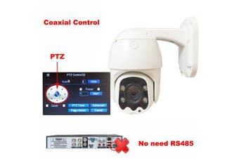 WTHUNG PTZ Speed Dome AHD Camera 1080P 2.0MP Coaxial Control For CCTV Camera- Only Camera NTSC 3.6mm China