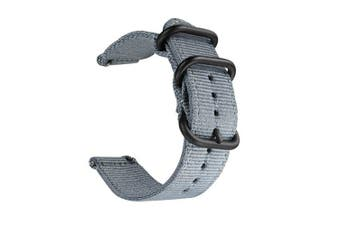 Nylon Wrist Strap Watch Band for Huami Amazfit GTR 47MM / Pace / Stratos 2/2S- Slate Gray