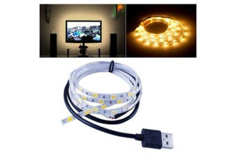 LED Strip Light 1.5M SMD 5630 60LEDS Tape TV Decoration- Warm White