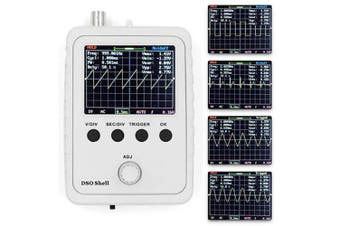 DSO150 Handheld Digital DIY Oscilloscope Set- White