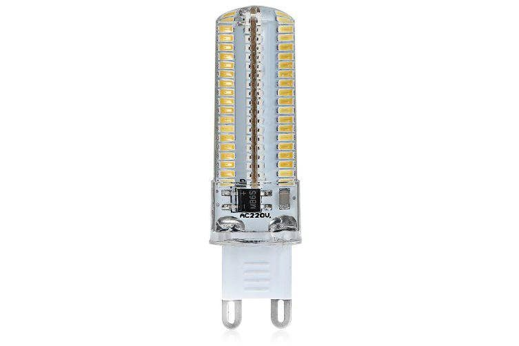 G9 10W 152 SMD 3014 1050Lm Dimmable LED Corn Lamp ( AC 220 - 240V )- Warm White Light
