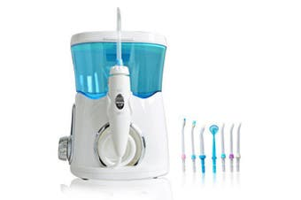 YASI 912 Rechargeable Hydro Dental Flosser Water Toothpick- Light Sky Blue
