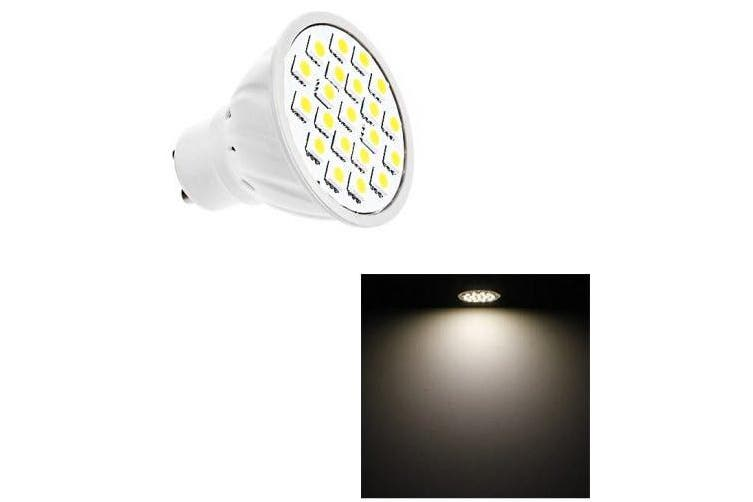 5W GU10 LED Bulb Lamp 21 LEDs SMD 5050 AC 220V- White Light