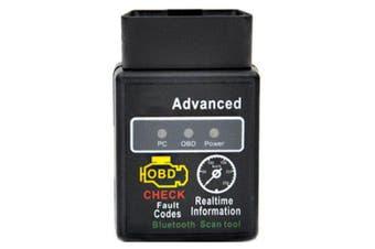 C02 Bluetooth OBD2 OBDII Car Diagnostic Scanner Scan Tool- Black