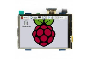MPI3508 3.5 inch USB Touch Screen Real HDMI Display for Raspberry Pi 3 / 2 / B Plus / B / A Plus- Multi-A