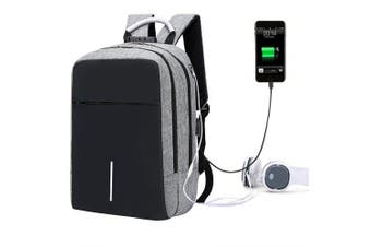 Creative Multifunctional Anti-theft Backpack for Outdoor- Gray