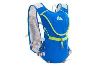 AONIJIE E883 Hydration Pack Backpack Rucksack Bag Vest Water Bladder Running Marathon Race Sports 8L- Blue China