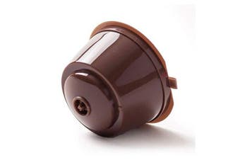 Refillable Capsules Coffee Filter- Brown