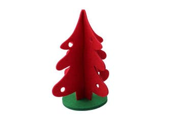 Red Christmas Decoration Gift Christmas Tree- Red